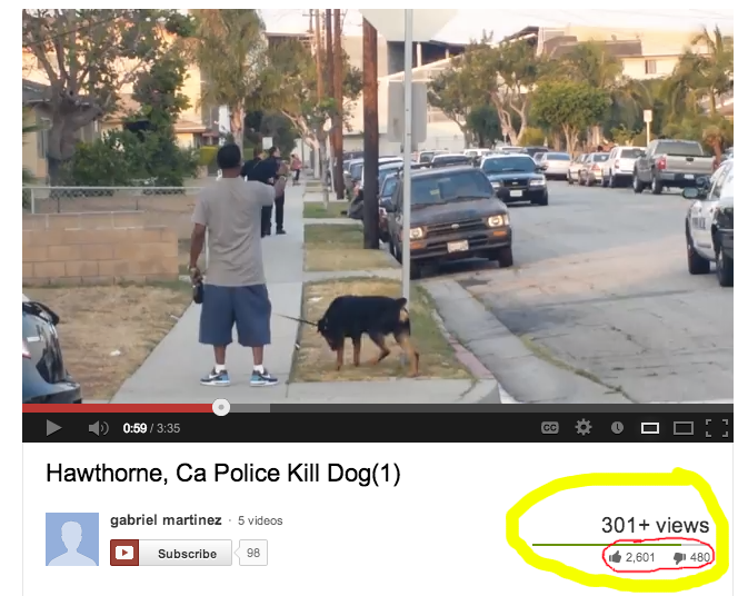 Google misleads YouTube viewers by Lying about How Many Views The Video Has Received